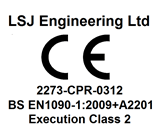 CE Logo for LSJ Engineering