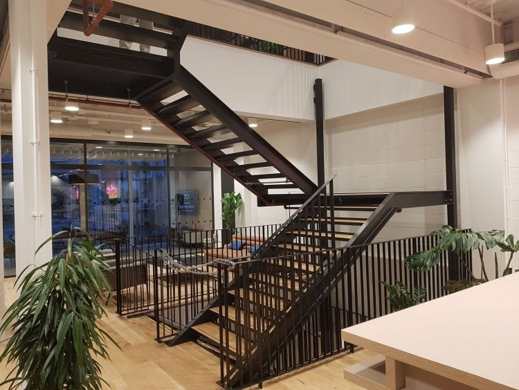 WeWork Finsbury Park London Staircase