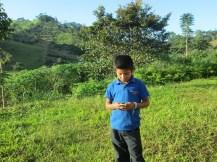 Texting in rural Nicaragua