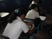 It doesn't matter where you are, Nicaraguan youth are always texting. -ChatSalud