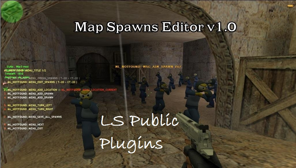 Map Spawns Editor v1.0