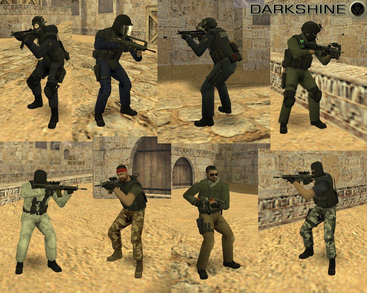 Darkshin Models