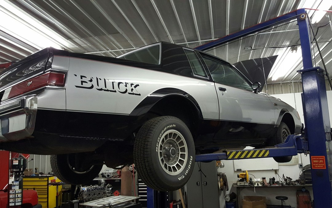1982 Buick Regal Grand National Build