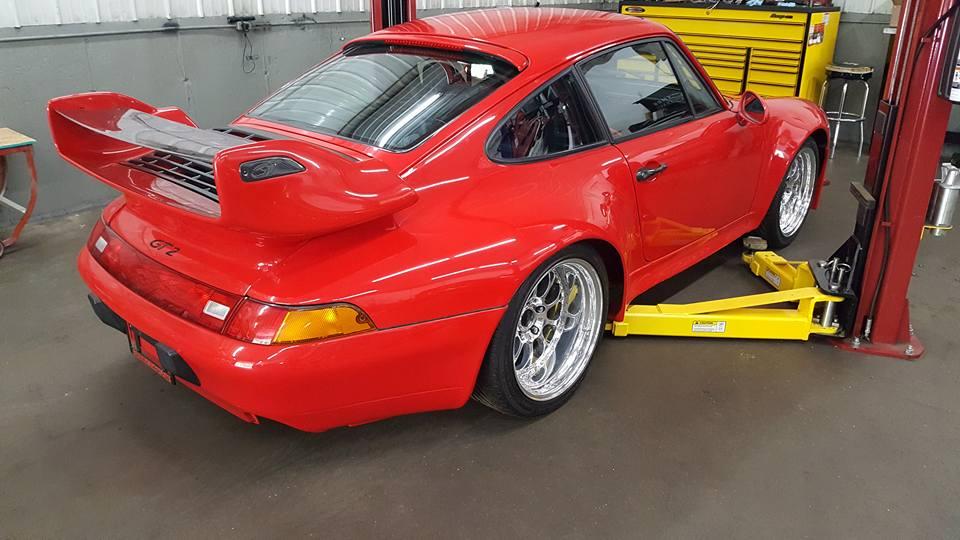 LS7 Porsche