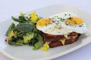 Enoteca, Croque Madame. Photo courtesy of Paul Bardagjy.
