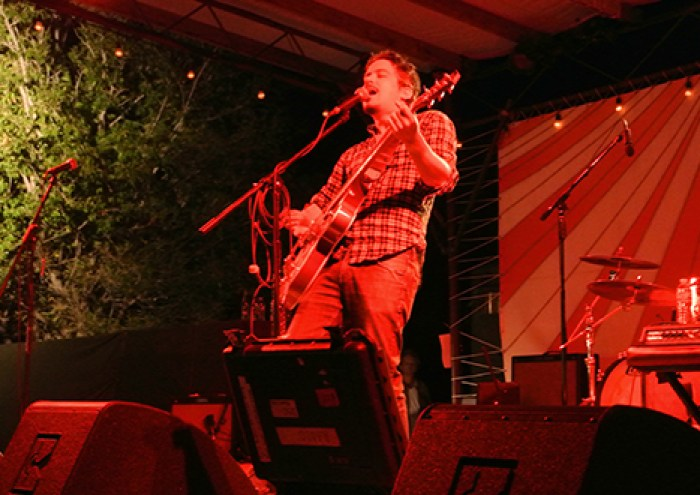 M. Ward headlined Saturday night and gently crooned our faces off.
