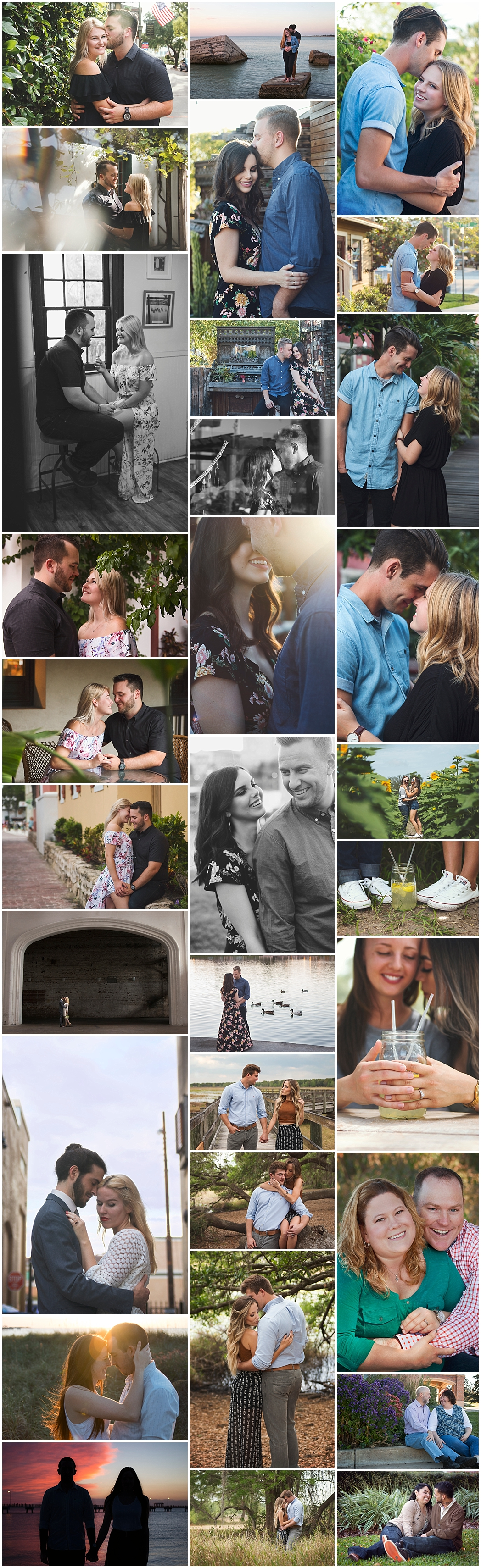 Tampa St Pete Lakeland Destination Couples Engagement Photographer