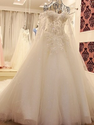 Sweetheart Ball Gown Wedding Dress 2018