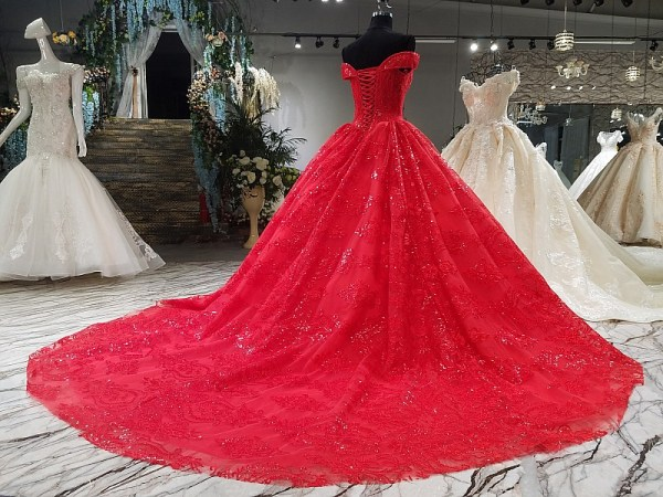 Sweetheart Ball Gown Evening Dress 2018