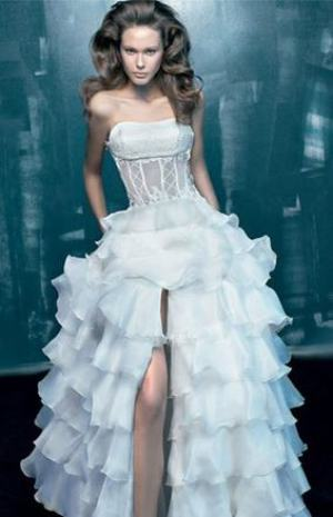 Leo wedding dress