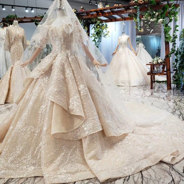 Organza and Tulle Wedding Dresses