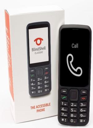 אריזת טלפון BlindShell קלאסי
