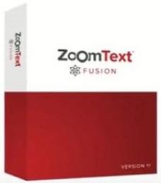 אריזת תוכנת הגדלה ודיבור Fusion