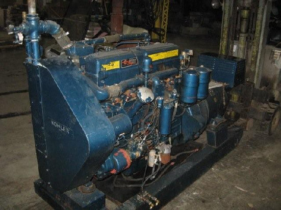 KOHLER GENERATORMod 75R074Serial # 249699Red Seal Continental Diesel900 Hrs75 KW93.75 KVAAmps 112.83PH60 CycleHP 142RPM 1800$4,500