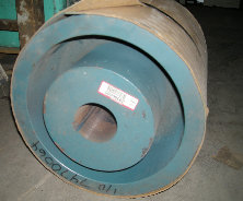"15 ""Diameter x 15 1/2"" C Belt Pulley 15 groove 3 1/4"" Bore 11 82-4 1591 max RPM"