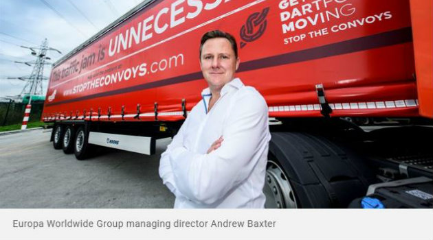 Andrew Baxter Europa Worldwide Group Managing Director