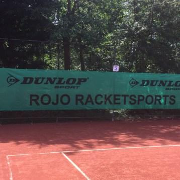 Banner Rojo Rackets