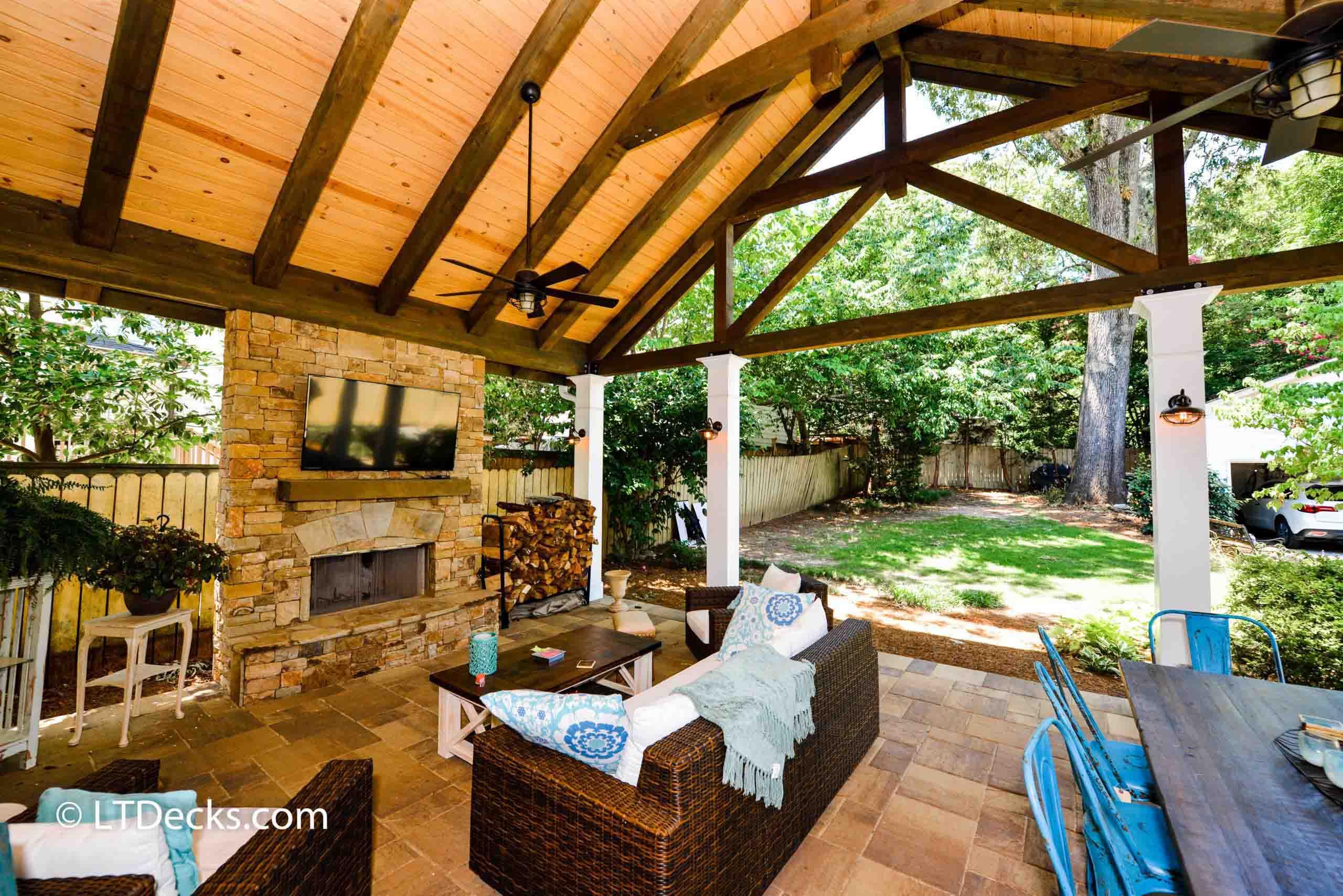 decks and porches outdoor kitchens