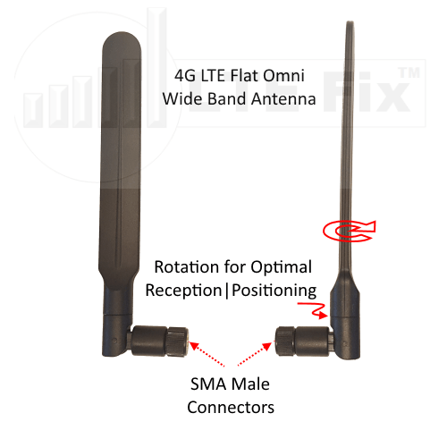 700-2700MHz 4G LTE and Dual Band WiFi Antenna Kit