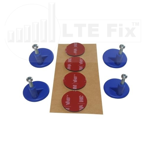 Adhesive Router PCB Mounting Pads