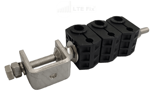 Cable Clamps for long runs of cable