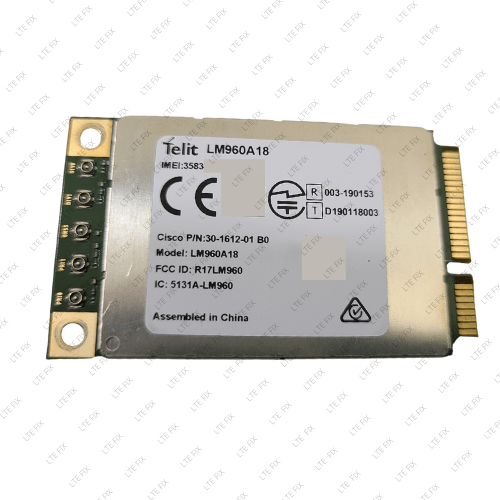 Telit LM960A18 Category 18 LTE-A 4x4 MIMO Modem - Mini-PCIe