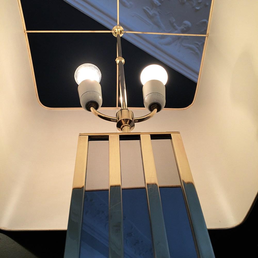 lampe romeo rega chrome et or