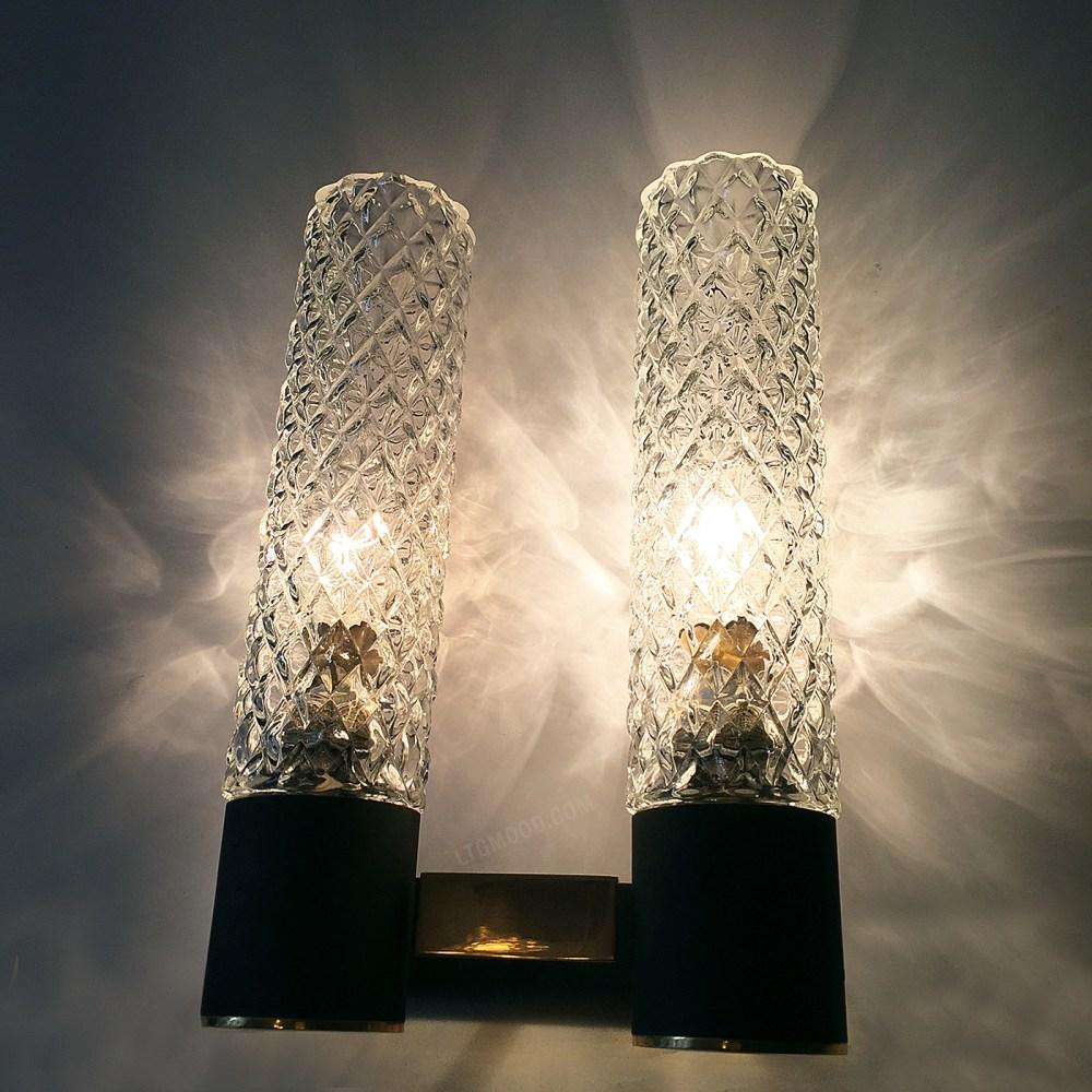 applique arlus laiton et verre 1950 1960 en vente chez ltgmood.com luminaires vintage