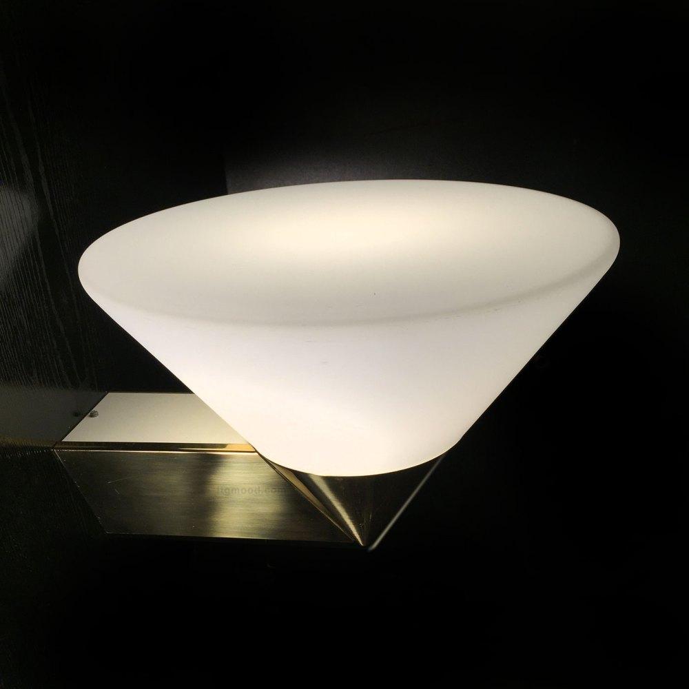 grande applique laiton et opaline blanche par limburg vente en ligne sur ltgmood.com