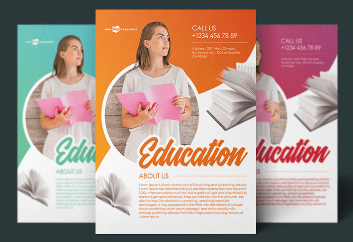 Free Education Flyer Templates Ltheme