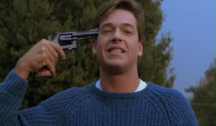 MFW I'm watching my favorite movie, Silent Night, Deadly Night Part 2.