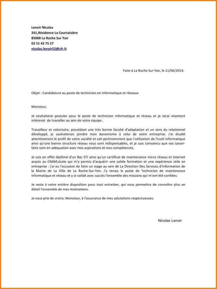Lettre De Motivation Pour Un Poste De Directeur - Lettre ...