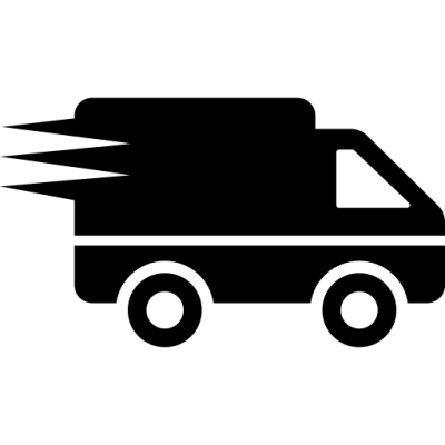 fast shipping courier logo