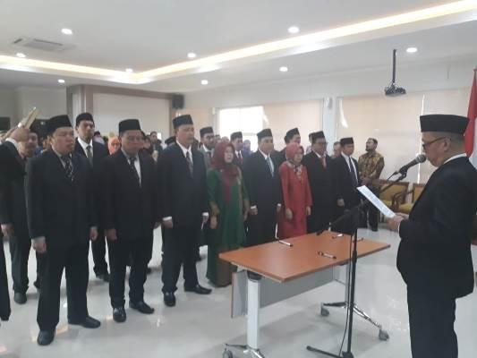 Pelantikan Pejabat UIN SGD Bandung,  Dibanjiri Akademisi Jamaah NU