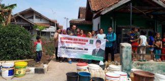 Pengurus Pergunu Jawa Barat Membagikan Air Bersih