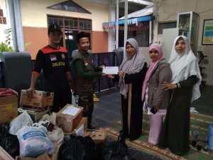 Banser Banjaran Bantu Korban Banjir Bandang