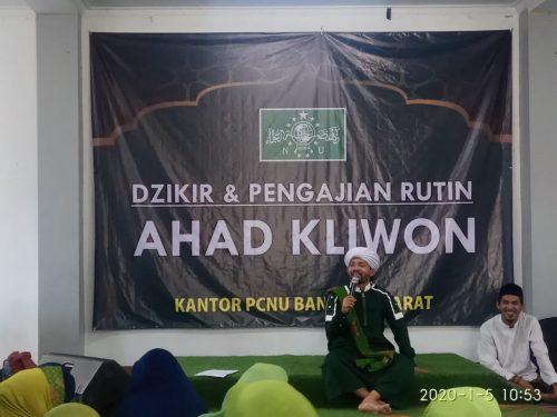 PCNU Kab. Bandung Barat Awali 2020 dengan Pengajian dan Majelis Dzikir
