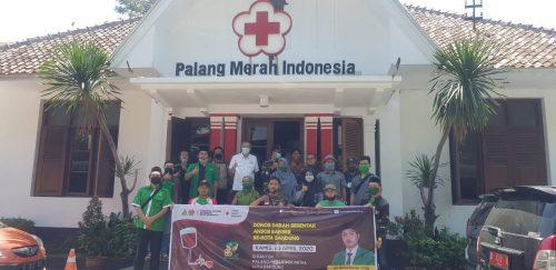 Peringati Harlah ke-86, GP Ansor Kota Bandung Lakukan Aksi Donor Darah