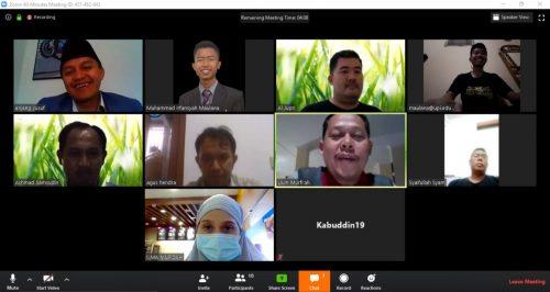 Cegah Corona Meluas, LPTNU Kota Bandung Lakukan Video Interaktif untuk Rapat Koordinasi Penulisan Karya Ilmiah