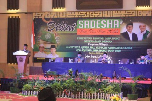JQH NU Jawa Barat Laksanakan Diklat Program Satu Desa Satu Hafidz (SADESHA)