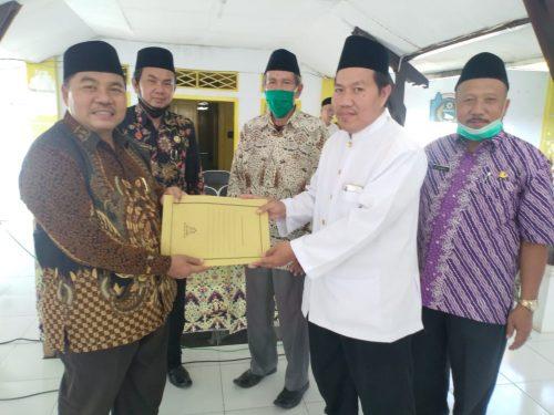 Ustadz Tosim Terpilih Sebagai Ketua MUI Kecamatan Sindang Periode 2020-2025