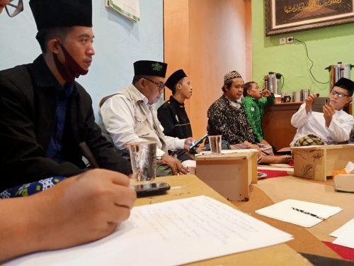 Musyawarah Persiapan Rapat Kerja LTM NU Kab. Bogor Diawali dengan Istighotsah