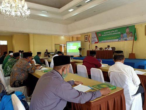Istighotsah Mengawali Raker LTM NU Kabupaten Bogor Dihadiri Rois Syuriah