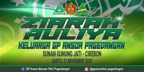 PAC GP Ansor Pagedangan Ziarah ke Makam Sunan Gunung Jati dan Syekh Dzatul Kahfi Cirebon