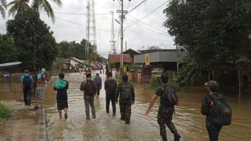 Banjir Kalsel, Ansor-Banser Terus Dampingi Warga