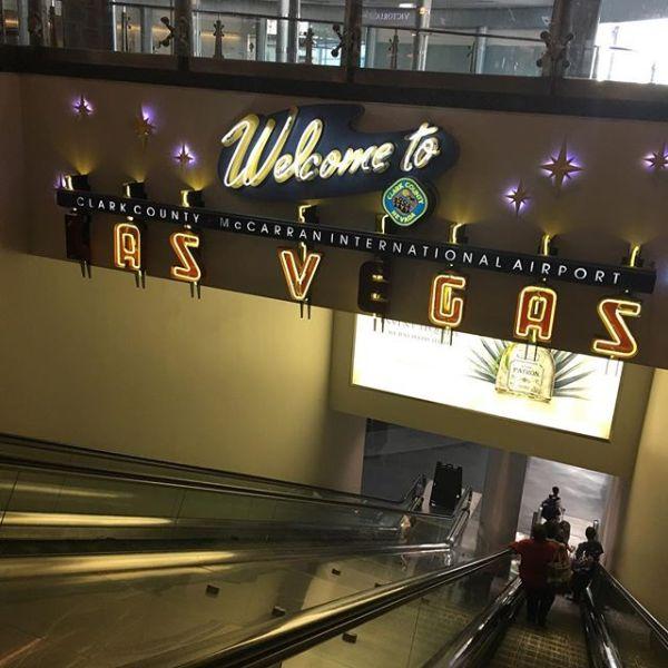 #ラスベガス到着