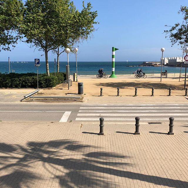 バルセロナ地中海沿いエリア