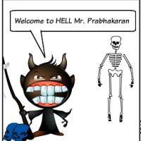 Prabhakarans Leichnam in Colombo?