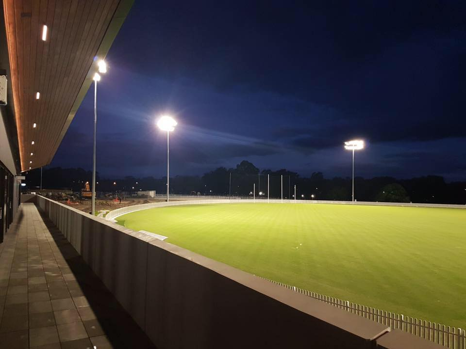 New Ground at Night