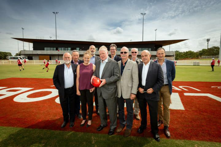 Opening of Tony Sheehan Oval - Tony Sheehan